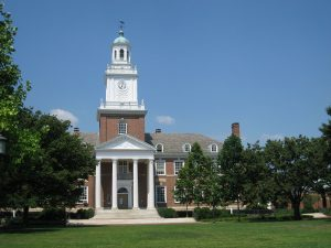 Photo 1.0: Gilman Hall, at Johns Hopkins University, in Baltimore, Maryland. Photo Courtesy: © 2008 Daderot.