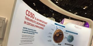 Exhibition booth Seattle Genetics - ASCO 2019 | Courtsey: Emila Duaerte / Sunvalley Communication