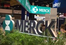 Merck | MSD Exhibition booth at the 2019 annual meeting of the American Society of Medical Oncology (ASCO).