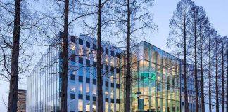Genmab's Research & Development Center in Utrecht, The Netherlands. Photo Courtesy 2019 © Genmab/Lucas van der Wee