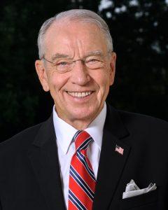 Chuck Grassley. Courtesy: United States Congress