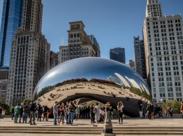 Millenium Park, Chicago. Courtesey: 2018 Fotolia, Used with Permission.