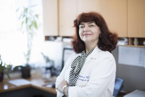 A new study led by Julia Ljubimova, MD, PhD, could help scientists develop immunotherapies for brain tumors. Courtesy: Cedars-Sinai