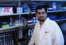 Muhammed Murtaza, M.B.B.S., Ph.D., Assistant Professor and Co-Director of TGen's Center for Noninvasive Diagnostics. Courtesy: 2019 TGen. Used with permission.