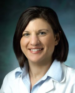 Daniele Marie Gilkes Ph.D., assistant professor of oncology and researcher in the breast and ovarian cancer program of the Johns Hopkins Kimmel Cancer Center, focuses her research on the role of the extracellular matrix in cancer metastasis, hypoxia and the tumor microenvironment and transcriptional regulation by hypoxia-inducible factors. Photo Courtesy: 2019