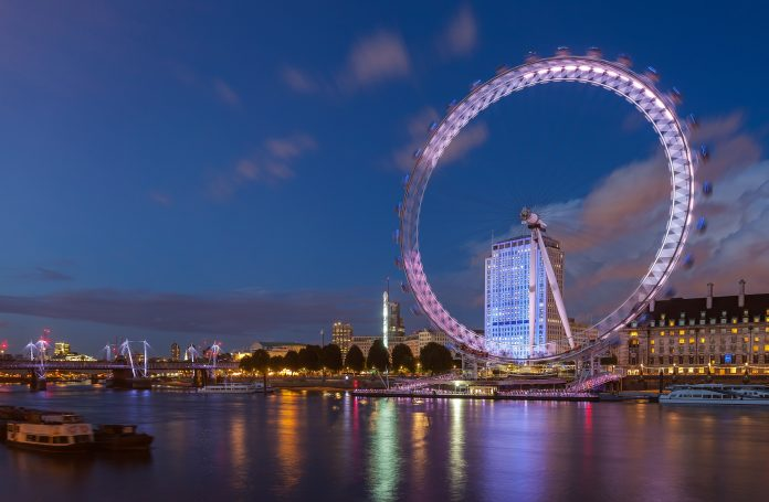 Eye of London. Photo Courtesy: Diego Delso, delso.photo, License CC-BY-SA.
