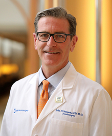 Photo 1.0: John H. Sampson, MD, Ph.D., chair of the Department of Neurosurgery at Duke University in Durham, North Carolina.