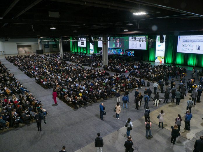 Before COVID19 - The AACR 2019 Annual Meeting during the opening plenary session at the American Association for Cancer Research Annual Meeting at the Georgia World Congress Center. Photo Courtesy: © AACR/Todd Buchanan.