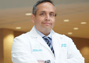 Francisco Hernandez-Ilizaliturri, M.D. is Chief Lymphoma Section, Professor of Medicine, Department of Medicine, Head, Lymphoma Translational Research Lab, and Associate Professor, Department of Immunology at Roswell Park Comprehensive Cancer Center, the nation's first cancer center, recognized for setting the standard for today's multidisciplinary approach to the highest quality cancer care. Photo courtesy: © 2020 – Roswell Park Comprehensive Cancer Center, Buffalo, NY. Used with permission.